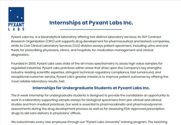 Pyxant Labs: News, Articles, Events, and Videos